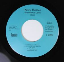 Unplayed/Country 45 Kenny Chesney - Somebody'S Callin' / High And Dry On Caprico