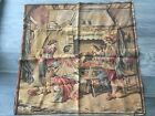VINTAGE 1950's FRENCH TAPESTRY FOUR MUSKETEERS