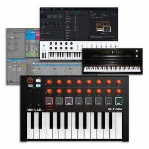 Arturia MiniLab MK2 Orange Limited Edition 25 Key USB MIDI Controller Keyboard