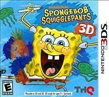 SpongeBob Squigglepants 3DS New Nintendo 3DS
