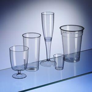 Disposable Glasses Party Box Set 180 Piece