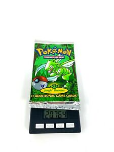 Pokemon 1st Edition Jungle Booster Pack Sealed Scyther 20.764g Heavy!!