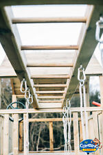 USED Wooden Monkey Bars - Attach To Climbing Frames Jungle Gym 8ft, 10ft, 12ft