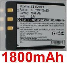 Batterie 1800mAh TYPE 074337S 73659 Pour INTERMEC CK1 CN1