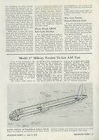 1945 Aviation Article Consolidated Vultee XC-99 Convair Model 37 Transport