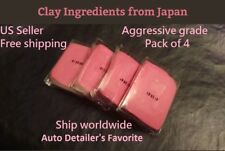 4 Pack of 50 gram (200 grams) Auto Detailing Clay Bar Aggressive Grade Red