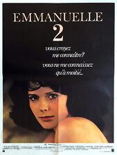 Affiche 60x80cm EMMANUELLE 2 (1978) Sylvia Kristel, Umberto Orsini EC
