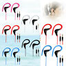 Best 3.5mm Earhook Sport Stereo Headphone Earphone with Mic for iPhone Samsung