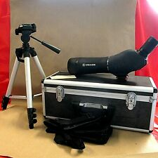 Meade 20-60x60mm Zoom Spotting Scope With Hard/Soft Case and Accessories