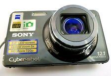 Sony Cyber-Shot DSC-W290 12MP Digital Camera w/ Carl Zeiss lens with accessories