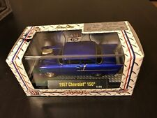 M2 Machine Ground Pounders R07 '57 Chevy 150  RARE BLUE CHASE