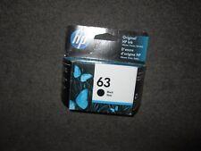 Genuine HP 63 Black Ink Cartridge F6U62AN Sealed Box March/2020 ENVY 4511 4512