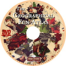 Geographical Fun Atlas { World Maps ~ Beautiful Country Images } on Dvd