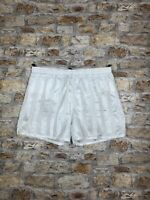 VINTAGE RETRO WHITE SPRINTER OLD SCHOOL ATHLETIC SHORTS MENS SIZE EXTRA LARGE