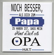 Dekofliese Wandbild Bildfliese Geschenkidee Decoupage Vatertag (086DP)