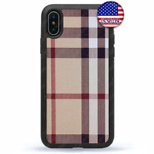 Cute Plaid Design Case Cell Phone Cover For iPhone 11 Pro Max Xs XR 8 Plus 7