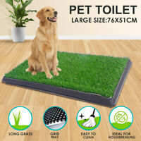 30''x20'' Dog Pet Pee Turf Bathroom Relief Toilet Puppy Grass Training Pad Mat