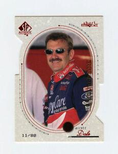Dale Jarrett 1999 SP Authentic Die Cut Overdrive 11/88 Short Print Insert $100