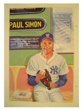 Paul Simon Poster Handbill Live At The Fillmore Yankees