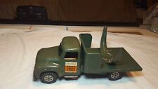 Vintage 1950s Buddy L Pressed Steel Army Electric Searchlight Unit Toy Truck