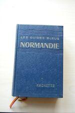 GUIDE BLEU NORMANDIE 1961 Ed. Hachette TBE