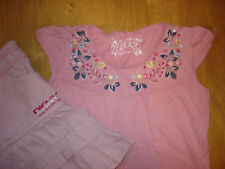 NEXT 110 Sommer T-Shirt, Tunika, Sommertop, Stickerei * England * zu DKNY Rock