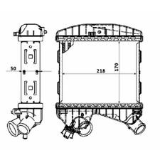 Ladeluftkühler - NRF 30177
