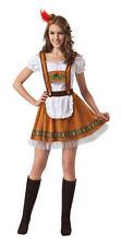Ladies German Country Bar Girl - Fancy Dress Oktoberfest Costume Bavarian Beer