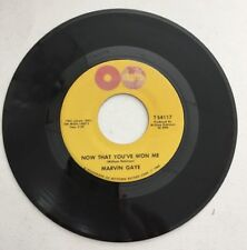 MARVIN GAYE, NO THAT YOU'VE WON ME, TAMLA#54117,R&B 45 RECORD, 1964