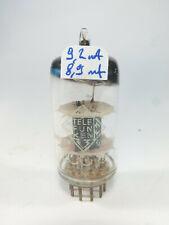 one Telefunken TFK <> Logo base 12AT7 ECC81, preamplifier tested  audio tube