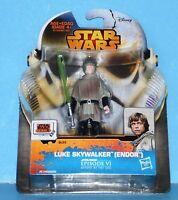 NEW Card Star Wars Saga Legends Action Figure SL25 SW EPVI LUKE SKYWALKER ENDOR