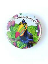 Toucan Bird Panamá Rainforest Magnets Souvenirs Illustrated Print Art