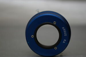 Argus Brick C3 Lens to Canon EOS M mount Adapter Back Focus adjustments, close