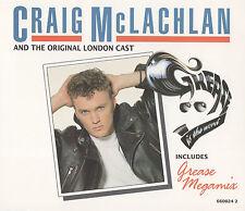 CRAIG McLACHLAN - GREASE MEGAMIX ETC. - ORIGINAL LONDON CAST - RARE CD SINGLE