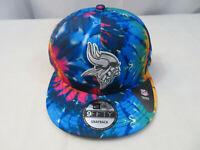 New Era 2020 Men's NFL Minnesota Vikings Crucial Catch Hat Cap 9FIFTY Snapback