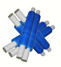 6 BLUE TINT PALLET WRAP 400MM X 250M 23MU SHRINK STRETCH FILM CHEAPEST OFFER