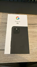 Google Pixel 4a 5G Just Black Android Smartphone 4G 5G LTE Ohne Simlock 128GB