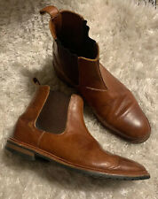 Men's Allen Edmonds Ashbury Brown Chelsea Boots Size 9.5