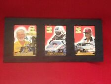 1993 WINSTON Drag Racing 24kt Gold ACTION PACKED 3 Card Set w/ JOHN FORCE