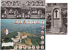 #SPORT - CALCIO: SUPERGA 1949- 3 CARTOLINE..1 MAXI