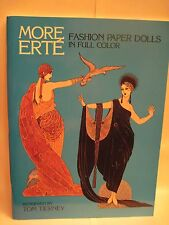 More Erte Fashion Paper Dolls (Tom Tierney)