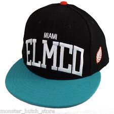 BRAND NEU W / Etiketten Elm Company Miami Dolphins Banner Snapback hut limitiert