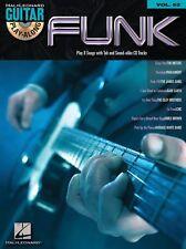 Guitar PlayAlong FUNK learn to Play Le Freak Guitar TAB Music Book Vol 52 & CD