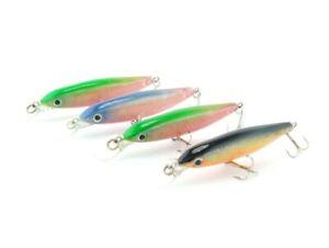 4X SAMBO Hard body 8cm 6gm Bream Minnow Salwater Freshwater Trout Fishing Lures