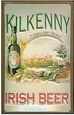 Kilkenny Irish Beer metal postcard / mini-sign     (hi)