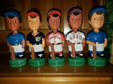 Cooperstown Collection of Nodders/Bobble Heads/Bobbing Heads Gem Mint w Boxes
