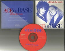 ACE OF BASE All that She wants RARE 1993 USA PROMO Radio DJ CD Single ASCD2614