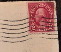 George Washington 2 Cent Stamp Red United States USA Rare Vintage Postage