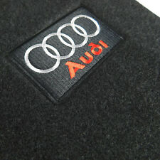 Black Carpet Floor Mats Front Rear 4 Pieces OE For Audi 09-15 A4 S4 08-15 A5 S5