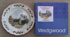 WEDGWOOD - 1980 CHRISTMAS PLATE  WINDSOR CASTLE